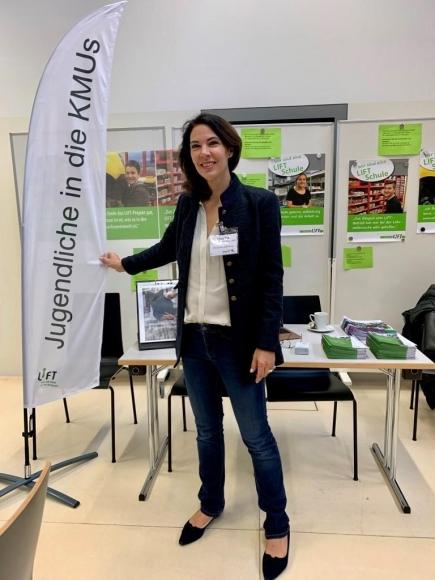 Claudia Rusert an der Distriktkonferenz vom 9. November 2019 in Vaduz